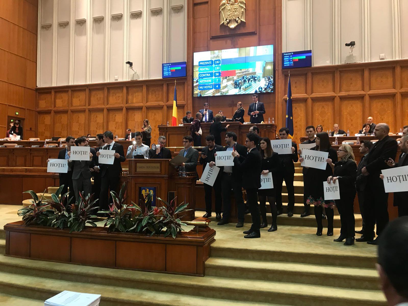 protest usr parlament 2