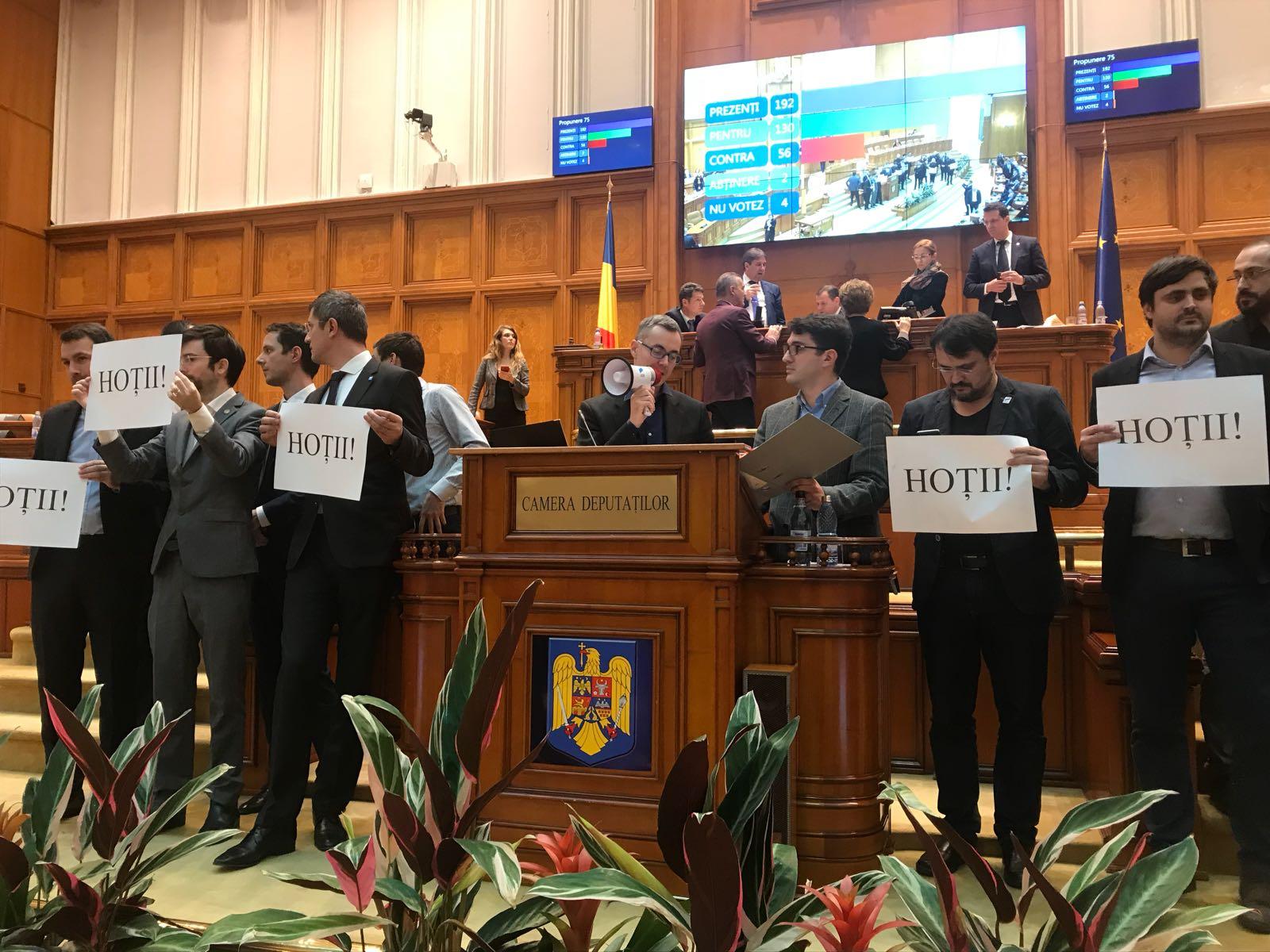 protest usr stelian ion parlament