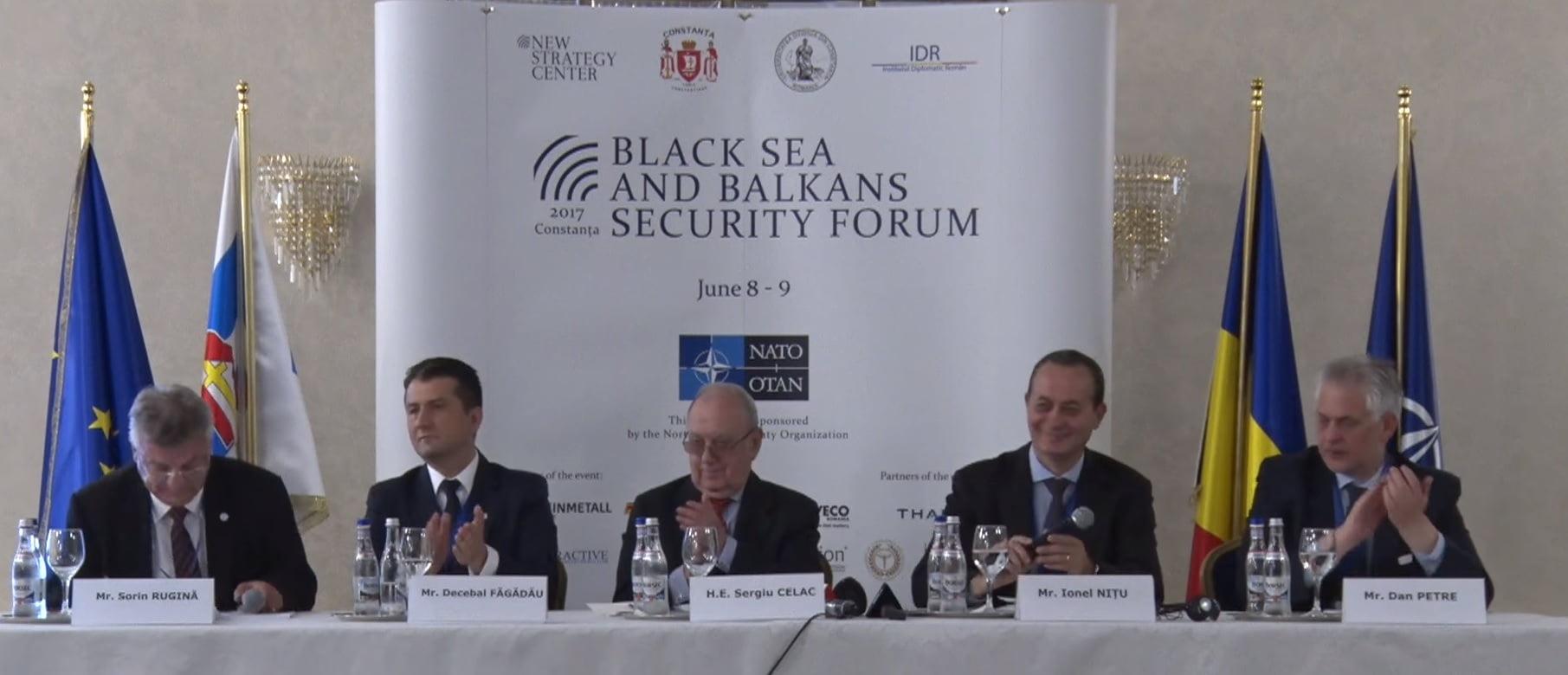 blak sea and balkans security forum fagadau