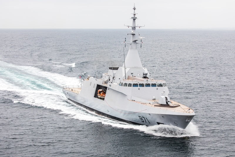 naval corveta gowind 2500