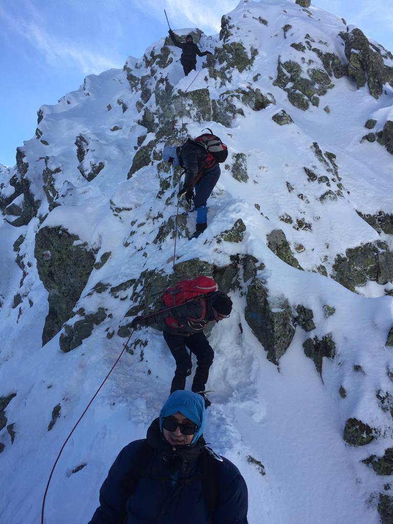 expeditie munte fagaras ziua nationala 8