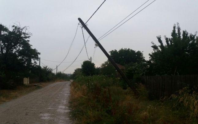 stalp curent electric