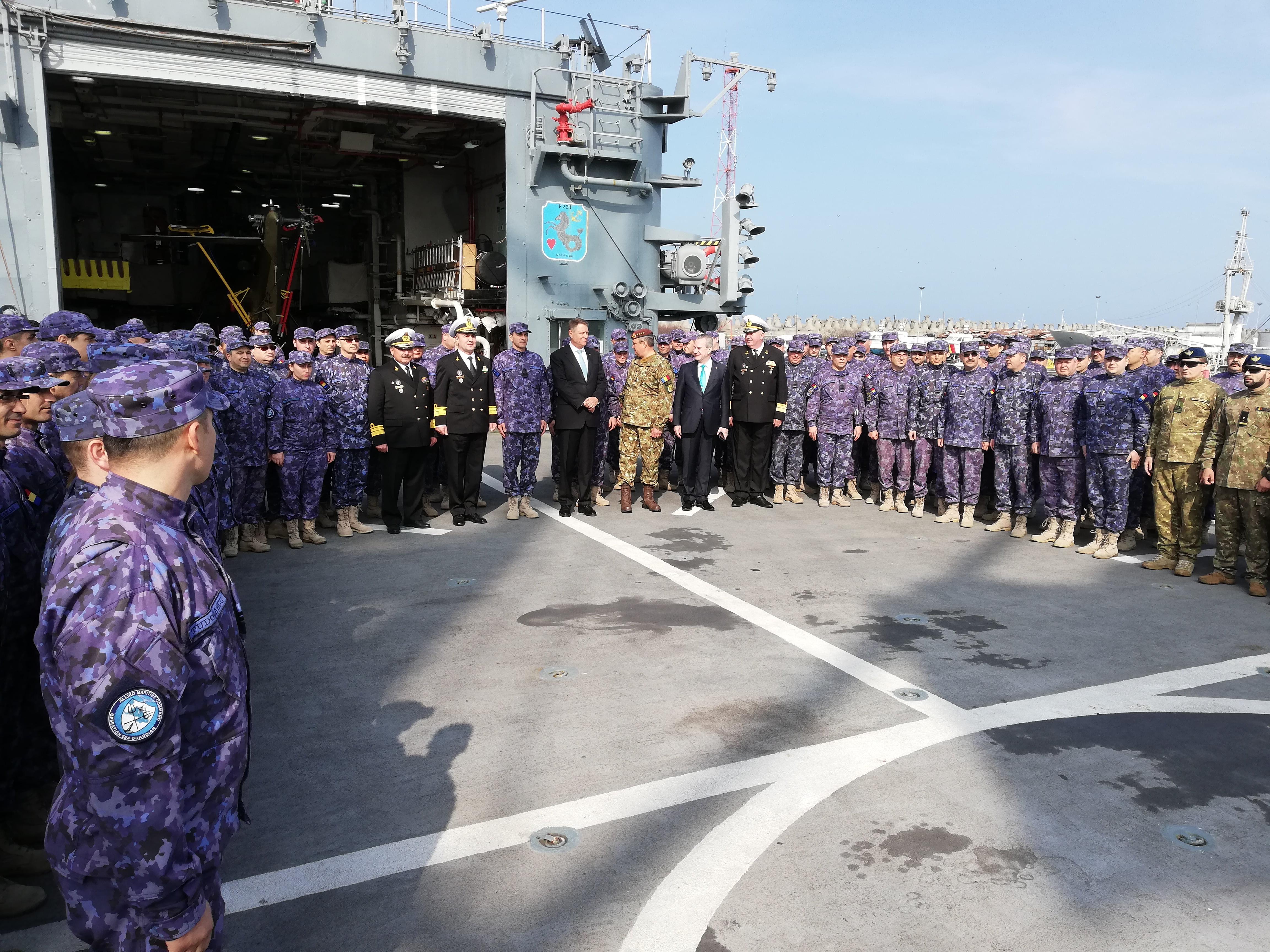 iohannis fortele navale