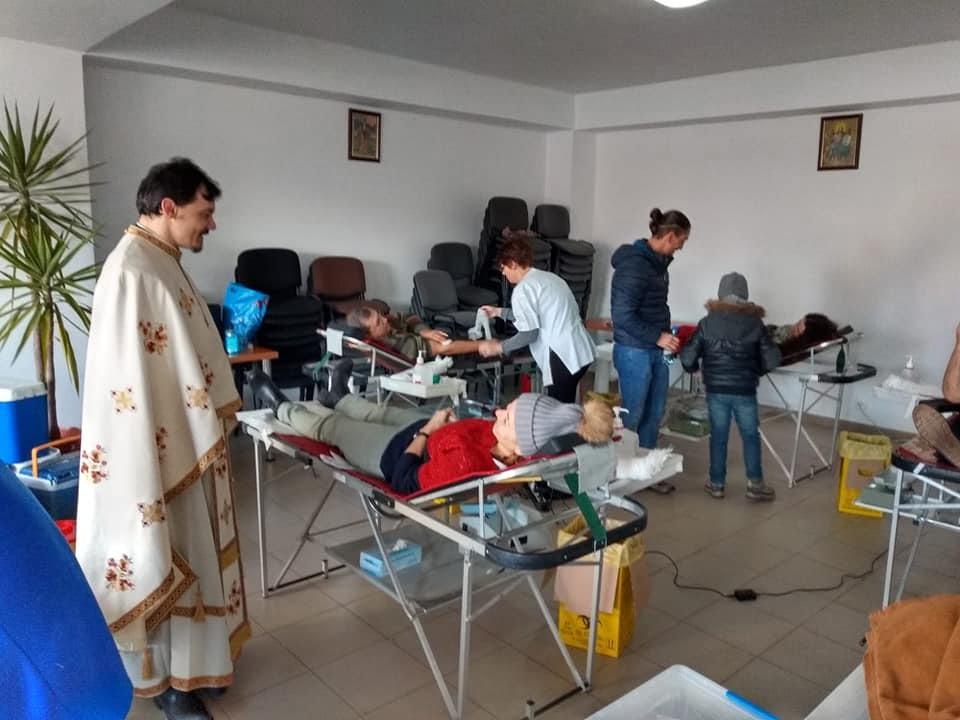 donare sange biserica