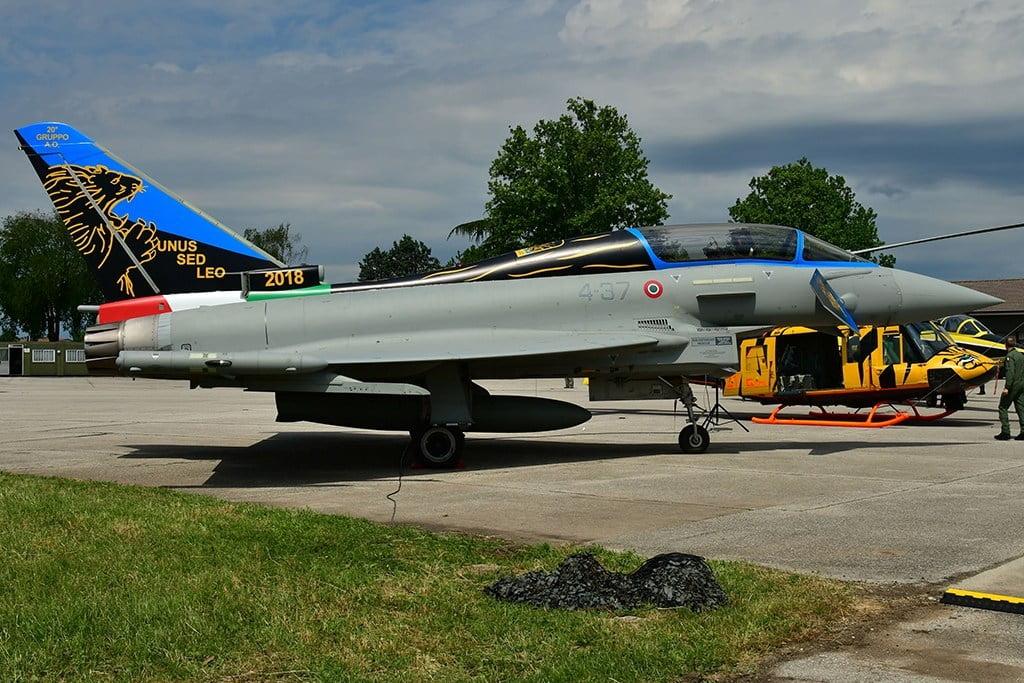 eurofighter typhoon italia