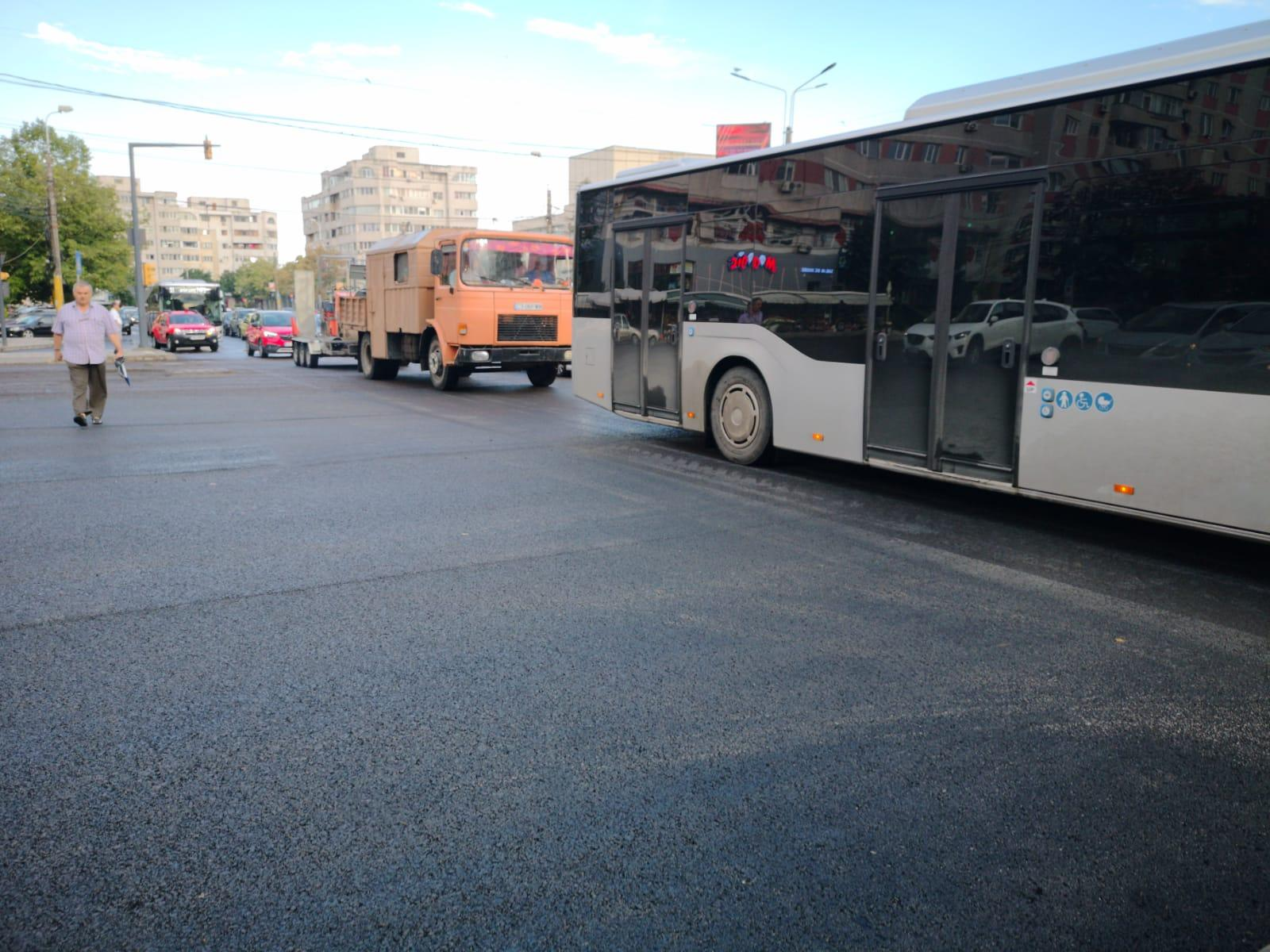asfaltare intersectie 6