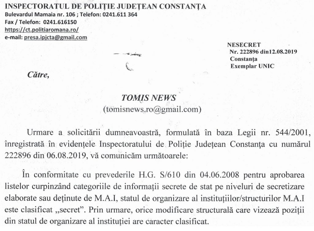 IPJ dispecerat
