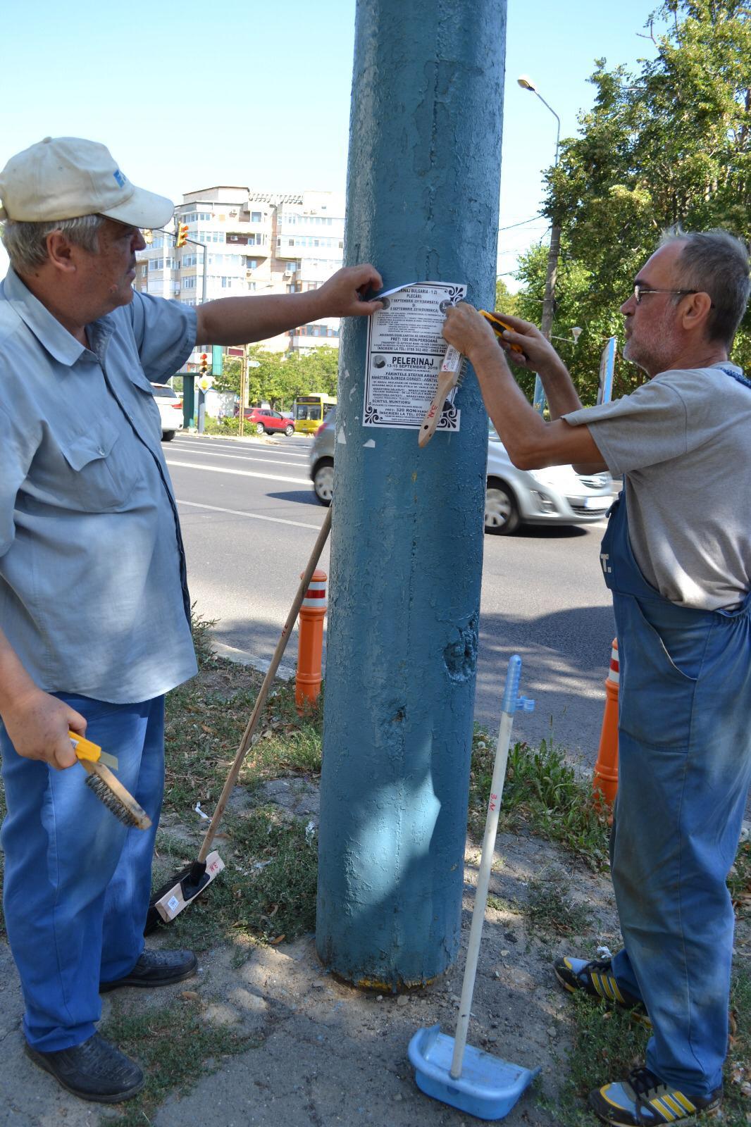 campanie eliminare afisaj stradal ilegal 4