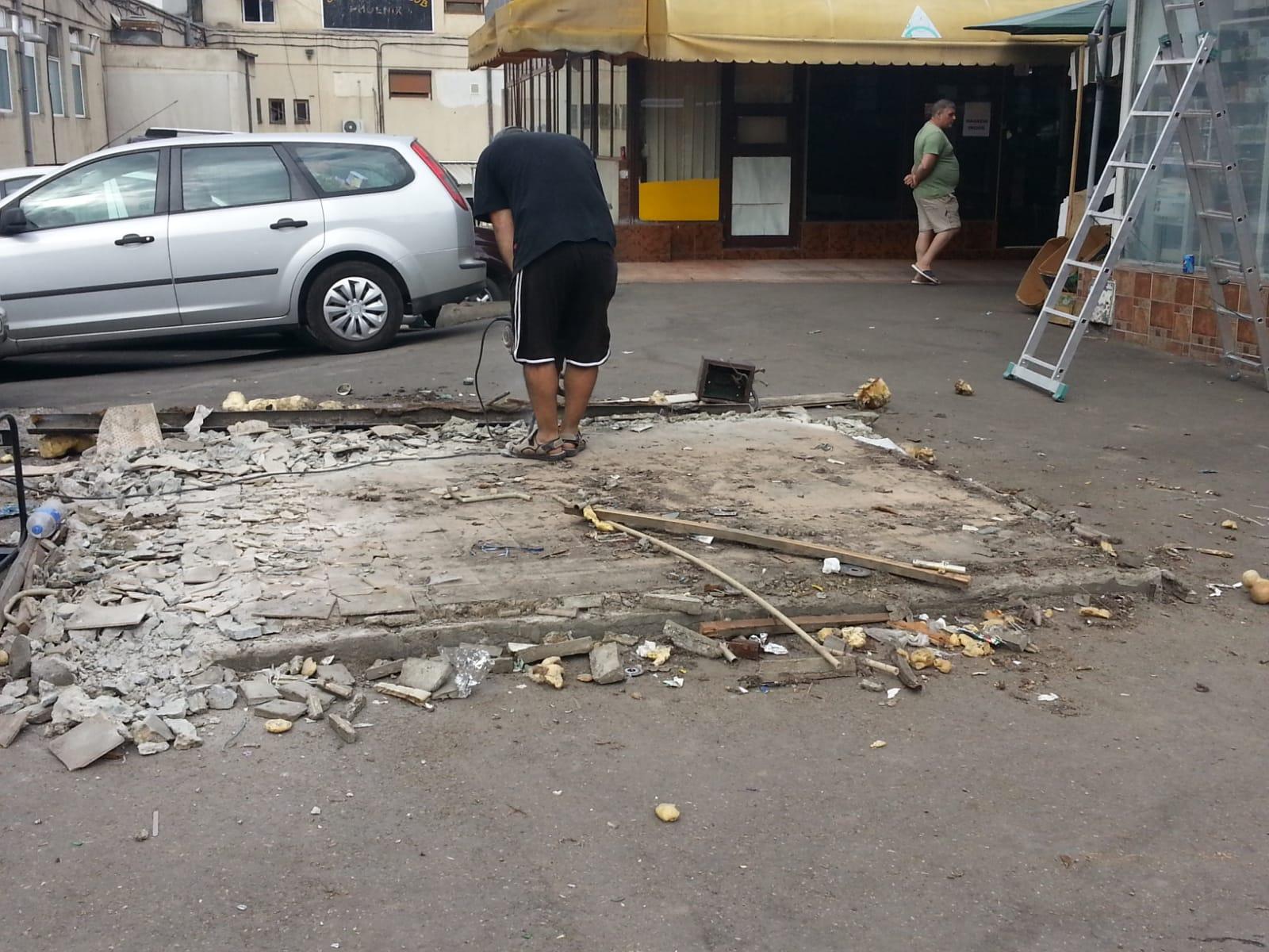 demolare chiosc rodipet 1