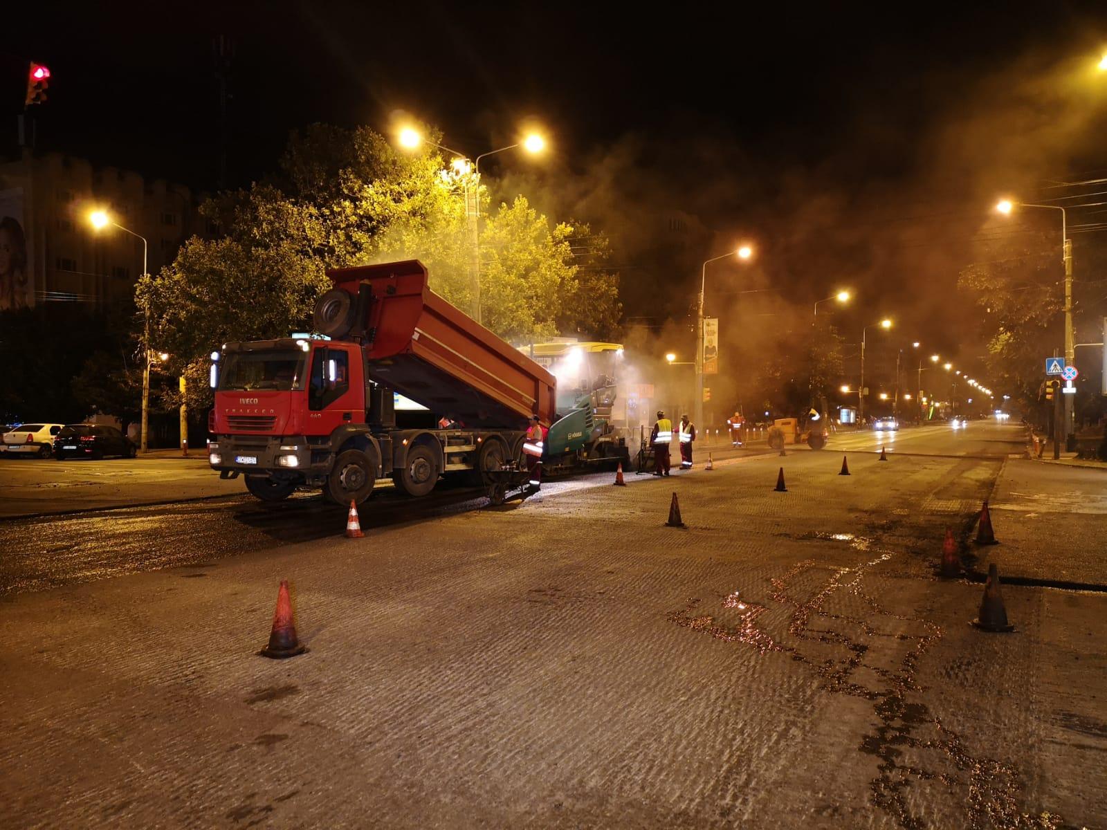 asfaltare intersectie Soveja Tomis 2