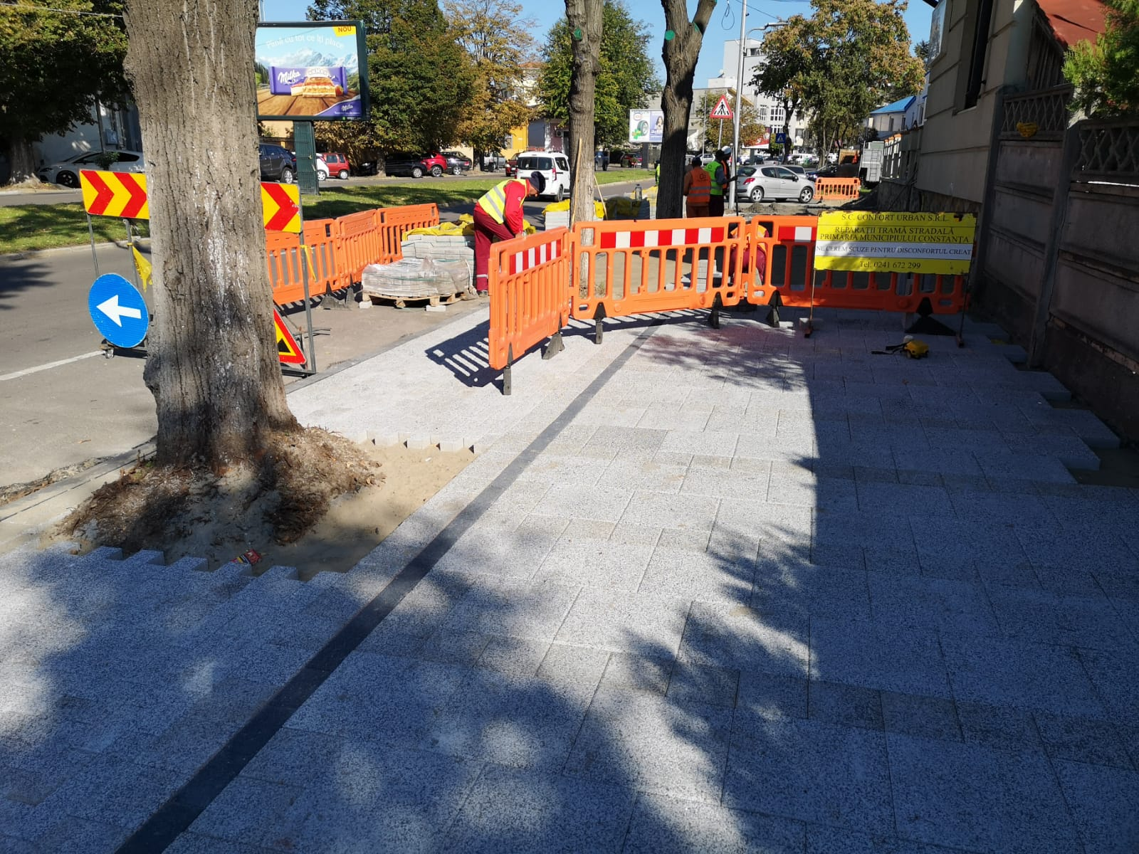 lucrari reabilitare trotuare 2