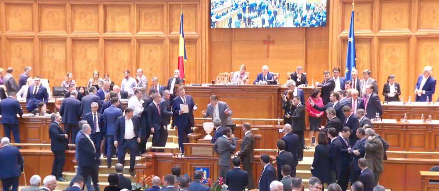 parlament motiune de cenzura