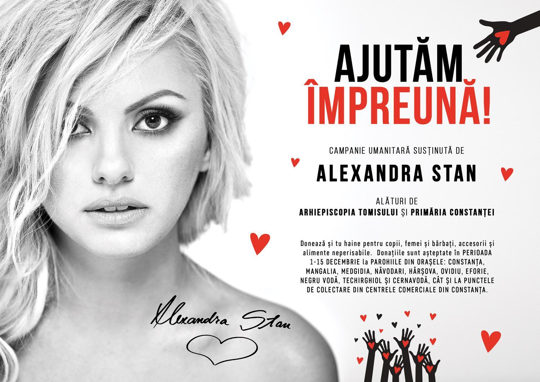 Alexandra Stan Ajutam Impreuna
