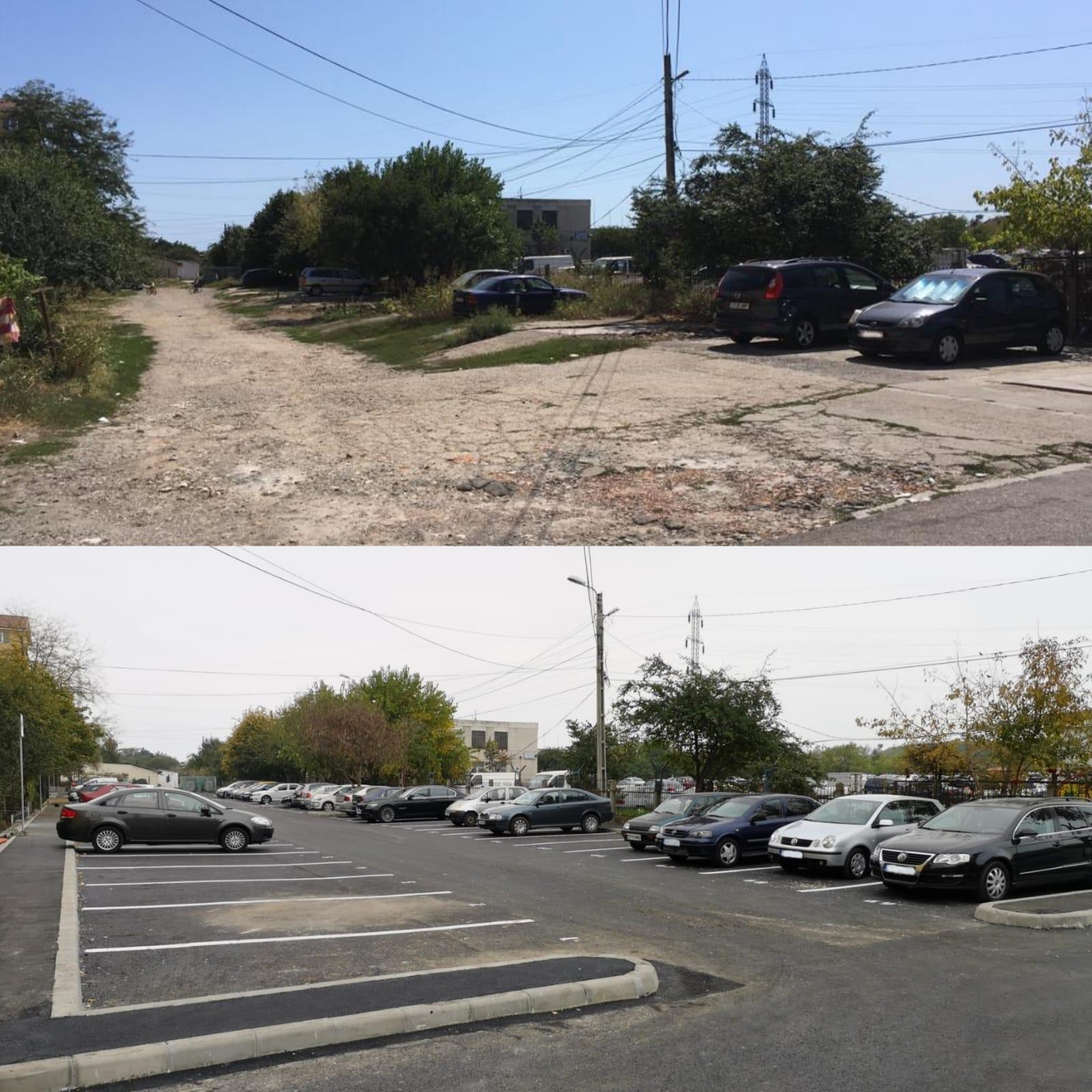 parcare strada Mugurului 1