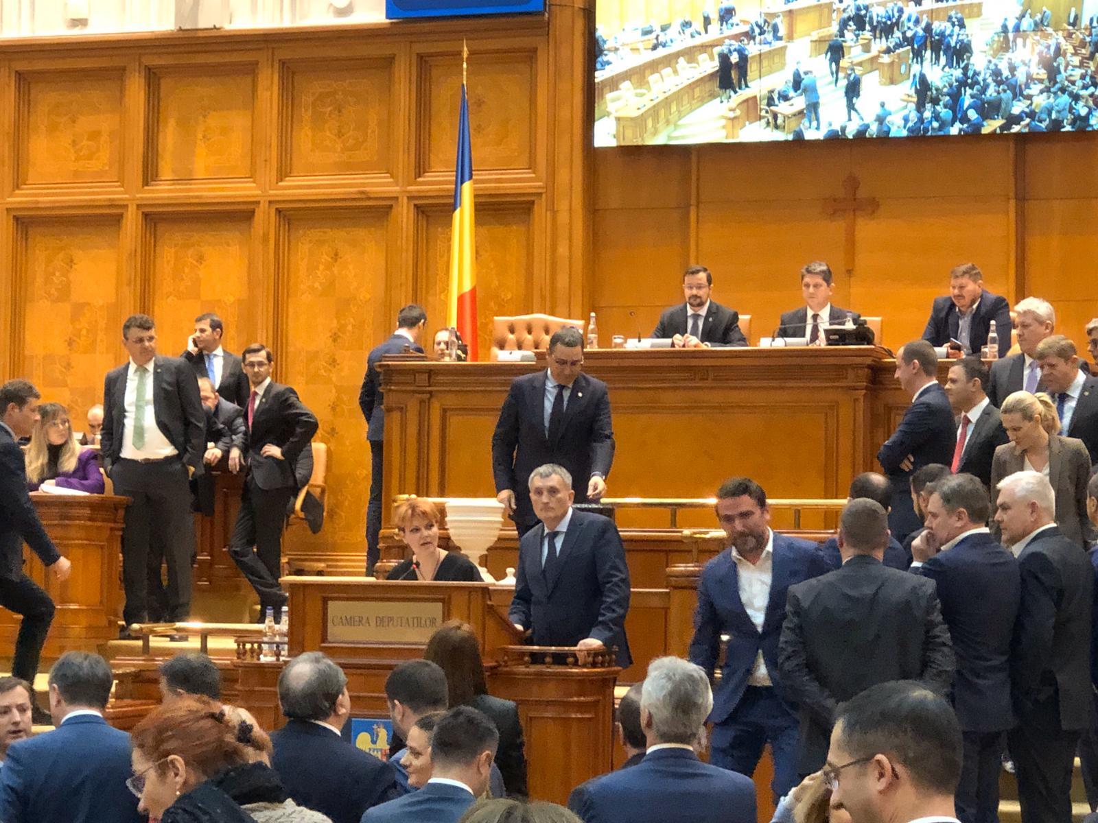 ponta parlament camera deputatilor