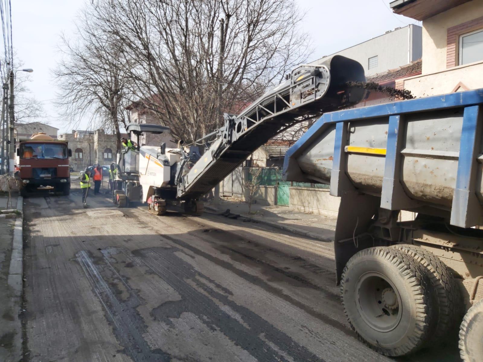 reabilitare carosabil cartier Faleza Nord 4