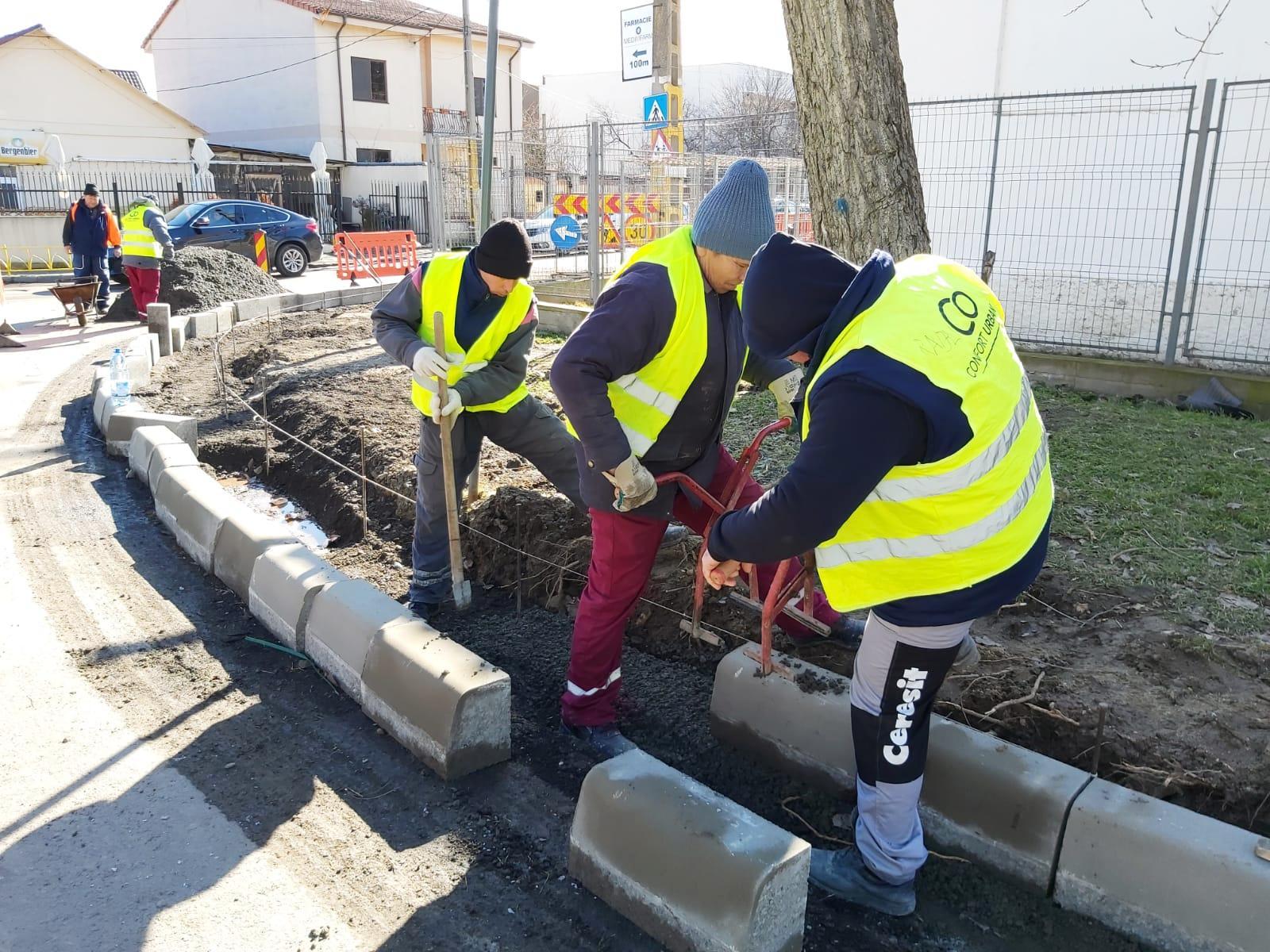 reabilitare trotuare cartier Palazu Mare 4