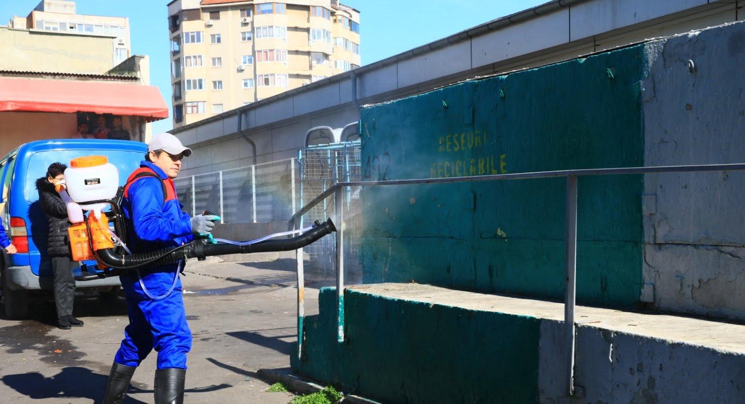 dezinfectie gunoi
