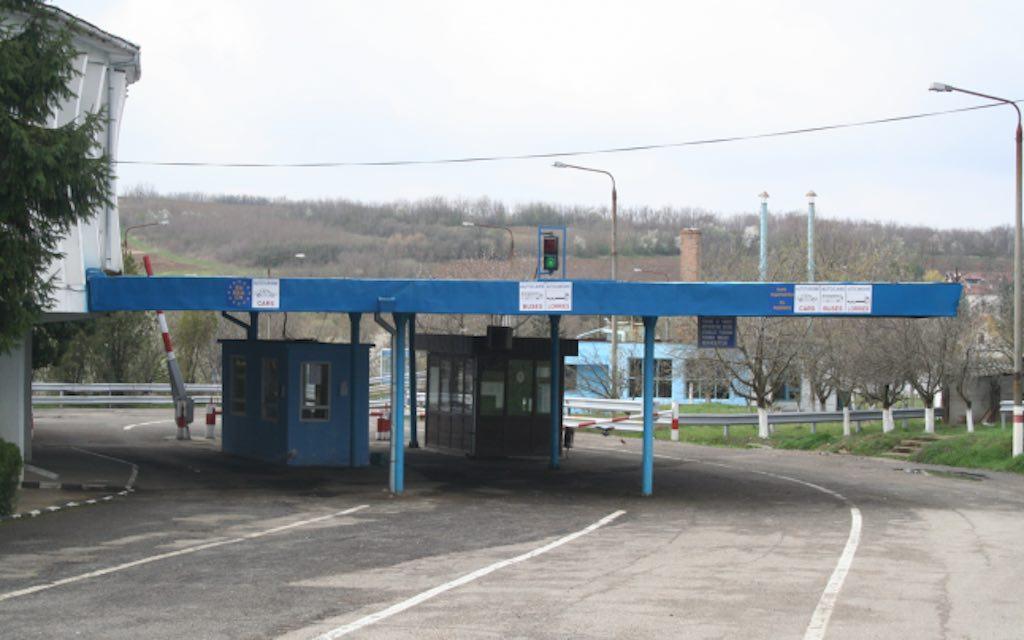 frontiera granita serbia