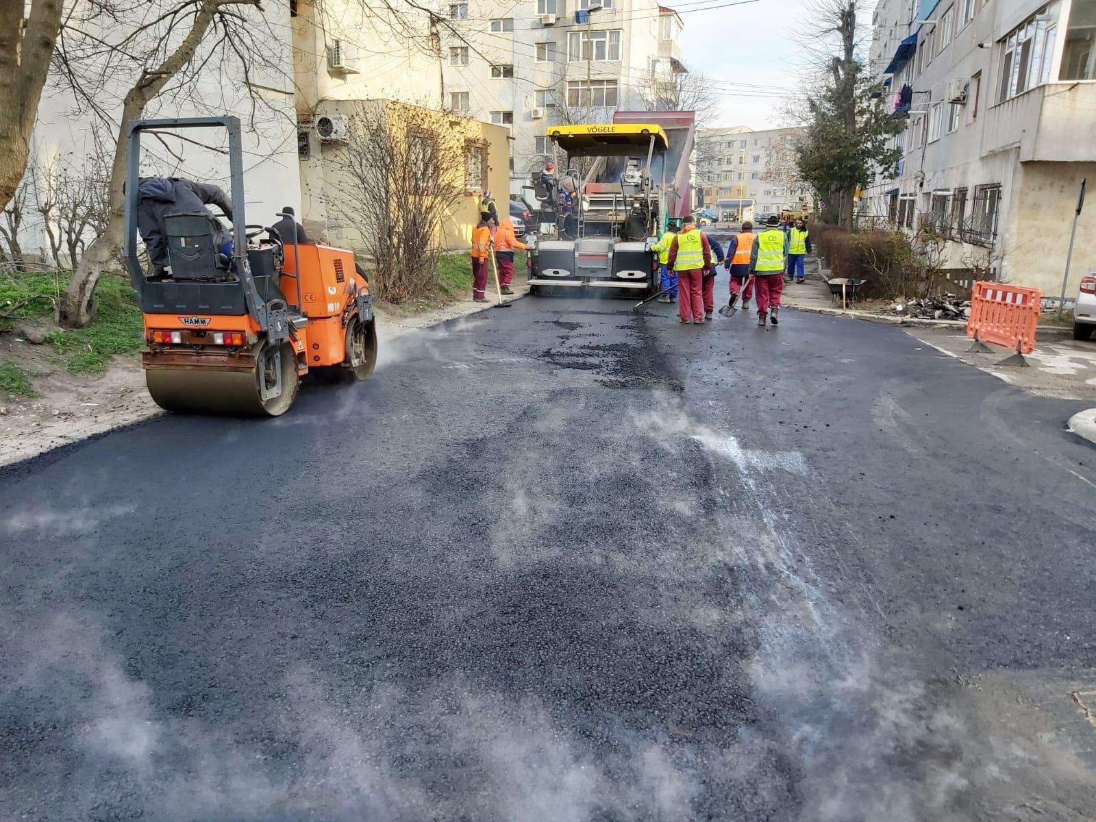 lucrari de asfaltare zona CET 7