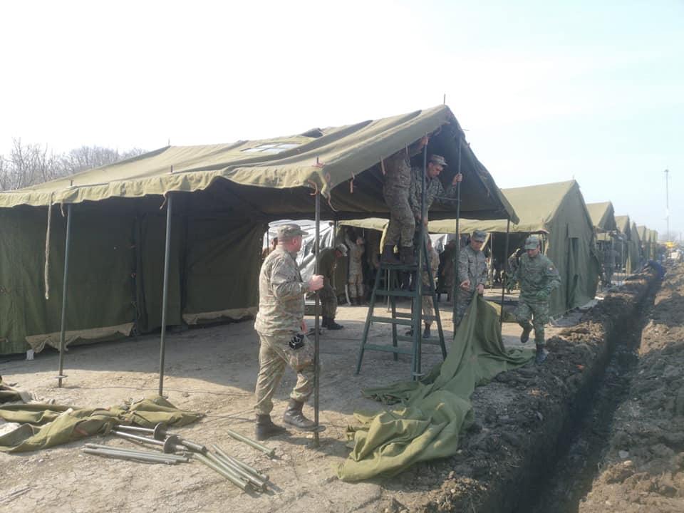militari soldati armata carantina spital