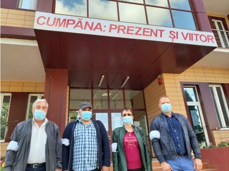 protest primaria cumpana