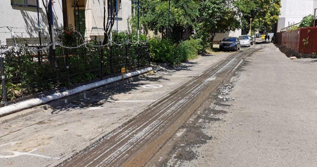 frezare carosabil strada Ciocarliei 2