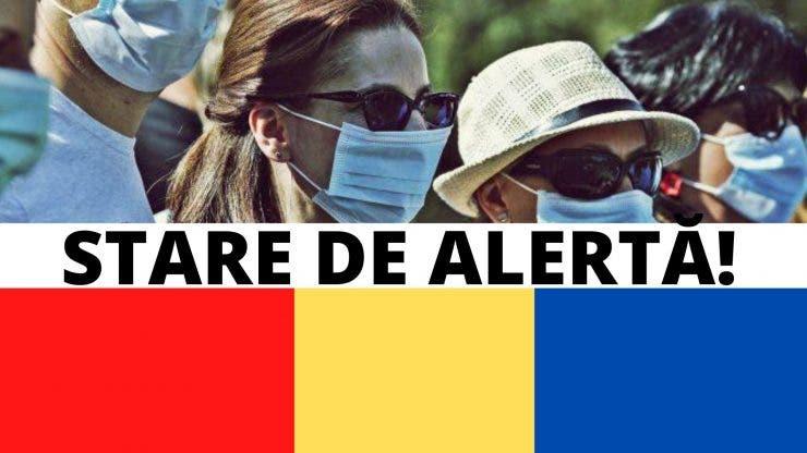stare de alerta masca de protectie