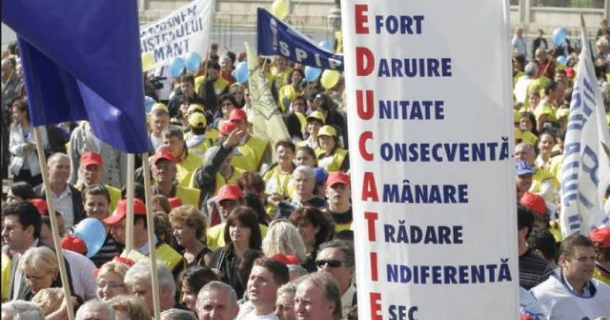 sindicat educatie
