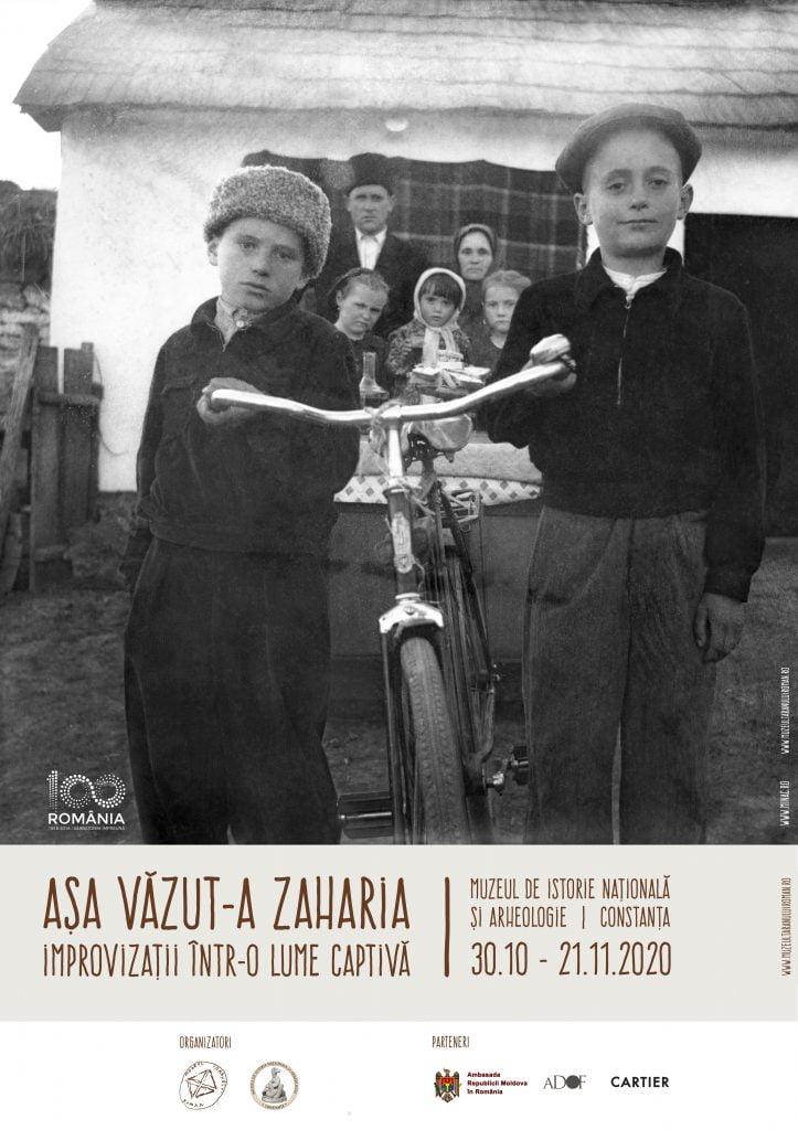 afis Zaharia Cusnir Muzeul de istorie nationala si arheologie Constanta