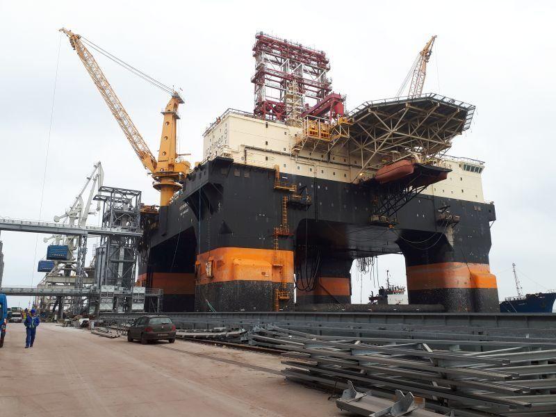 platforma offshore marea neagra