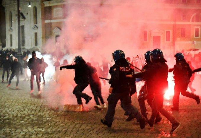protest italia