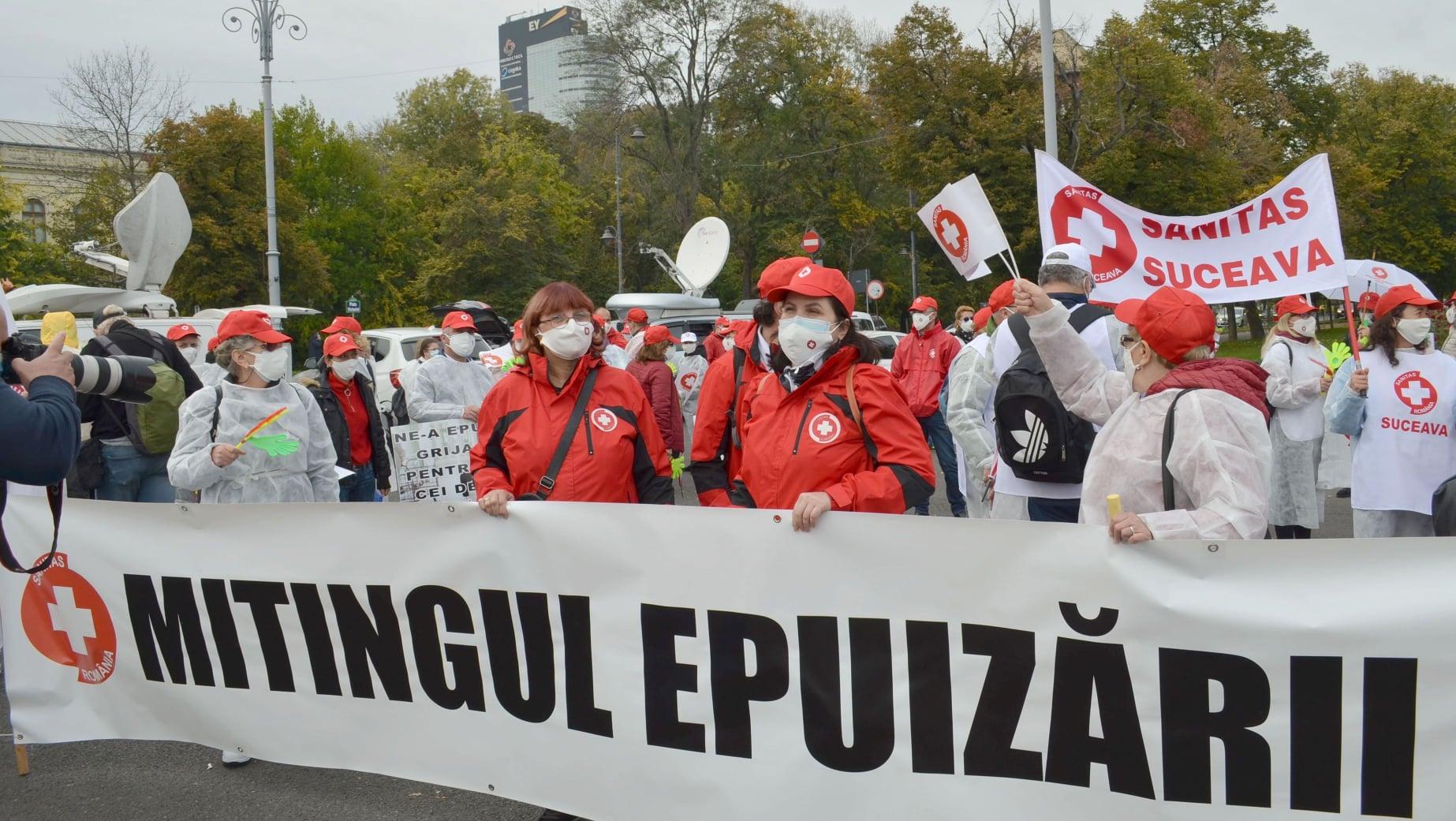 protest medici sanitas