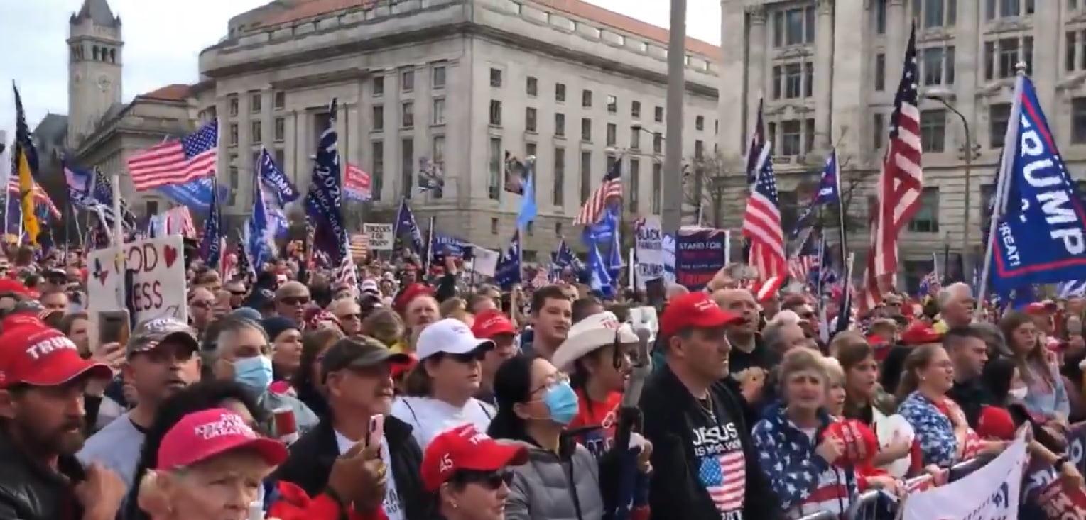 miting protest sua trump