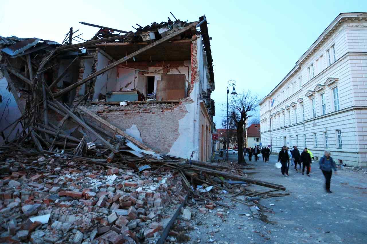 cutremur croatia
