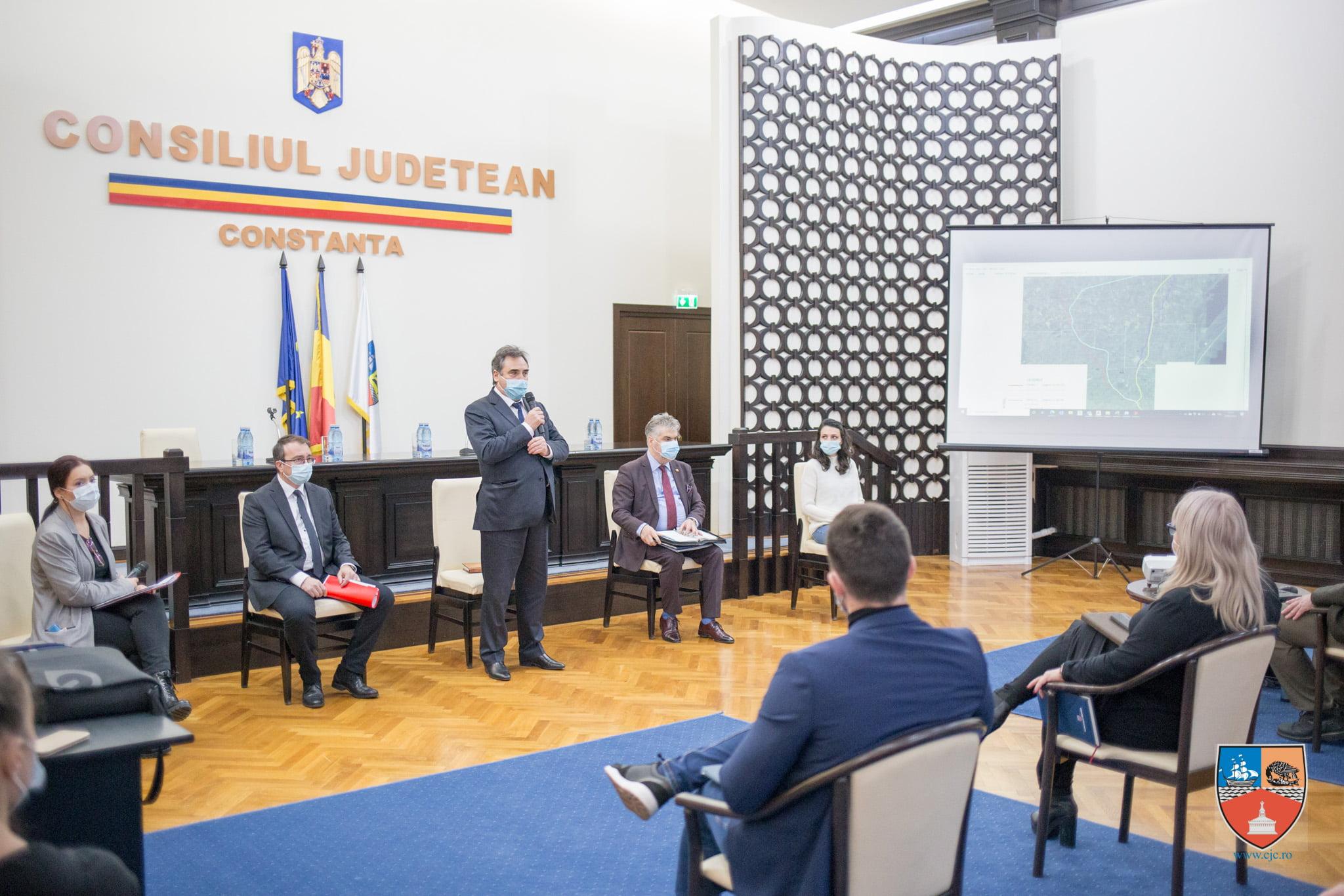 """CJ Constanța apasă pedala pentru drumul expres Constanța – Tulcea. Lupu: """"Mi se pare nefirească taxa de intrare în județele noastre"""""""