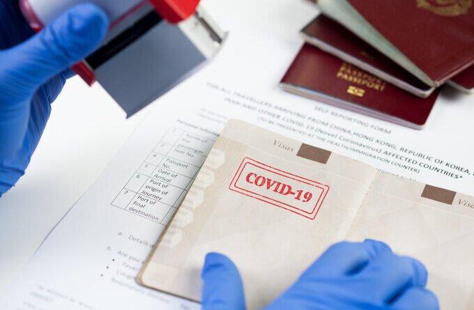 pasaport certificat vaccin covid