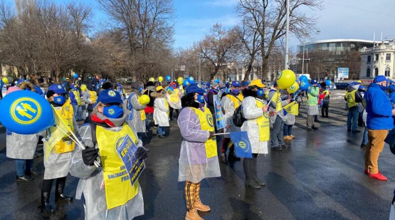 protest medici solidaritatea sanitara
