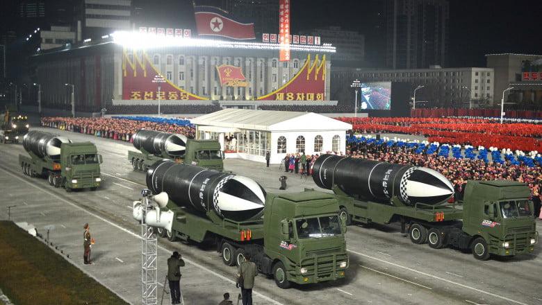 rachete coreea