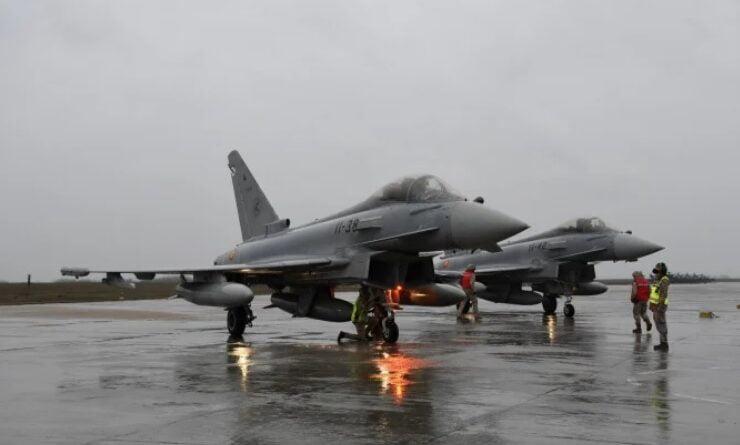 avion euro fighter typhoon spania