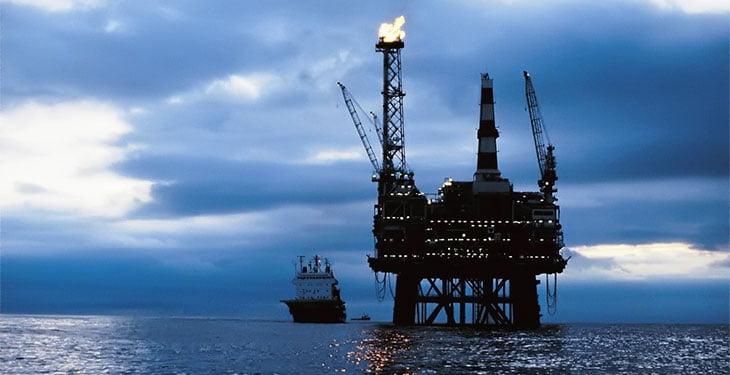 platforma petrol marea neagra