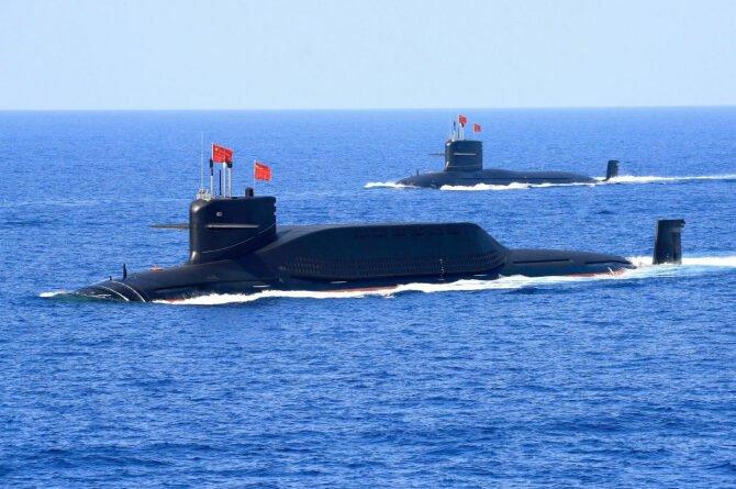 submarine china