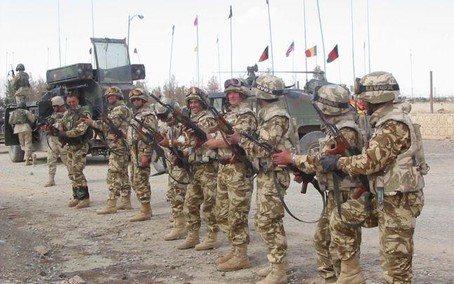 armata romana afganistan