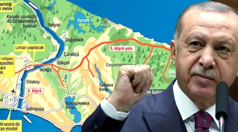 erdogan canal istanbul