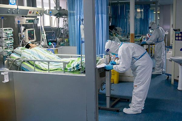 spital medic coronavirus