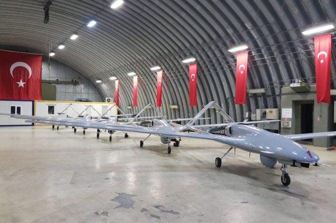 drone turcia