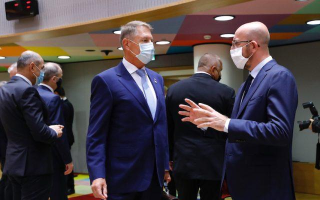 iohannis consiliul european