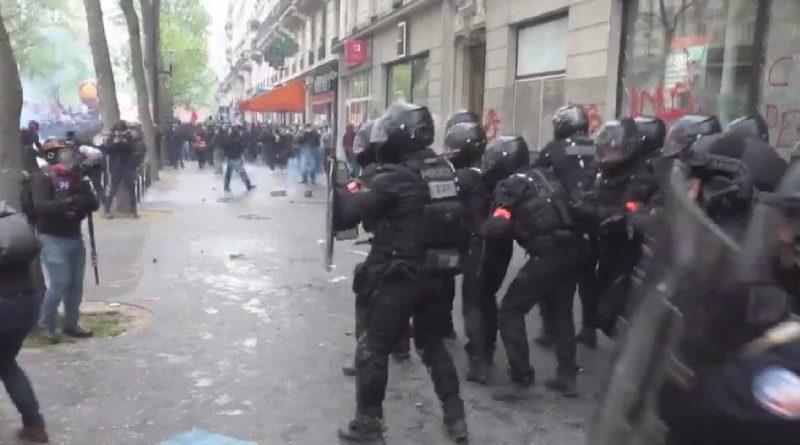 proteste paris franta