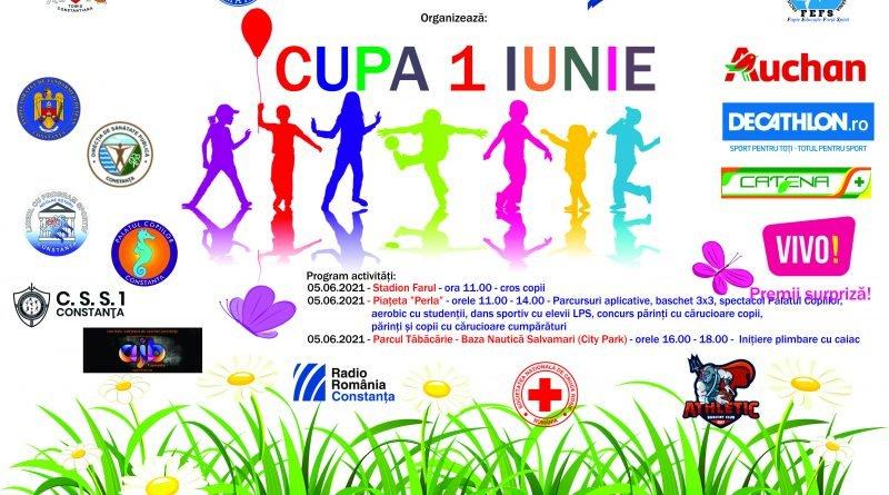 afis Cupa 1 Iunie 2021