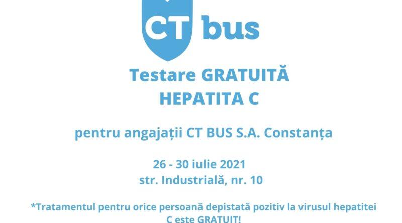 Baner Hepatita C CT BUS